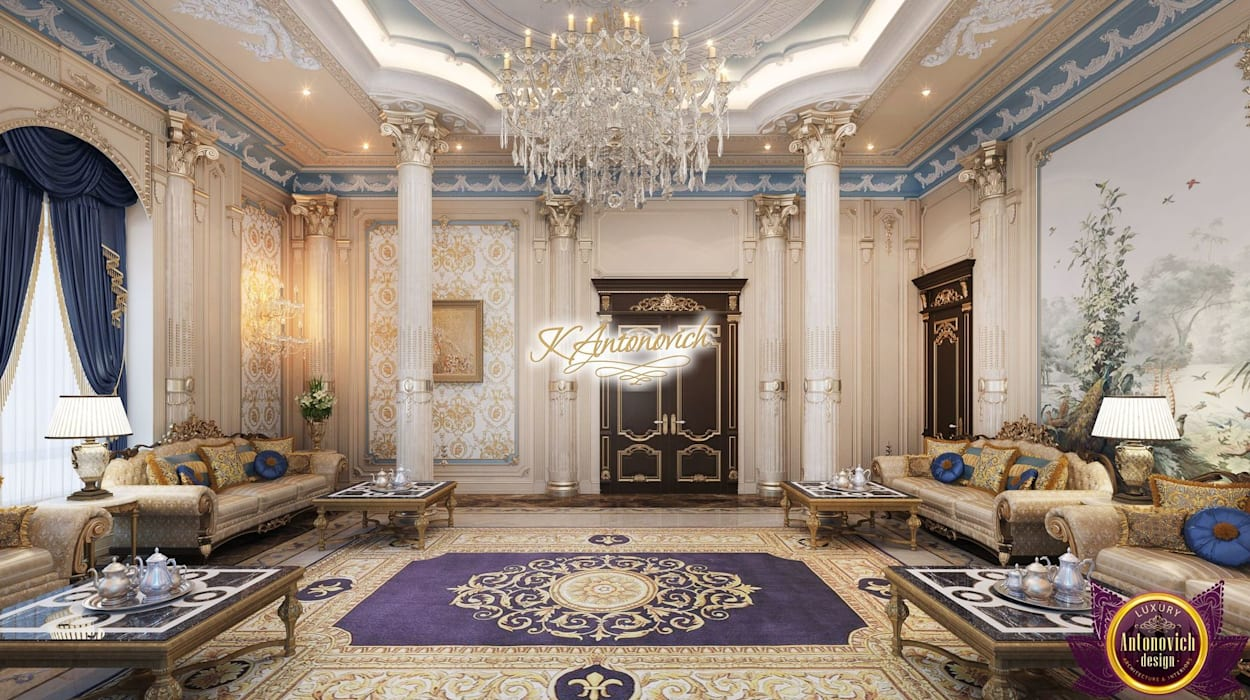 Living room by Luxury Antonovich Design, Classic