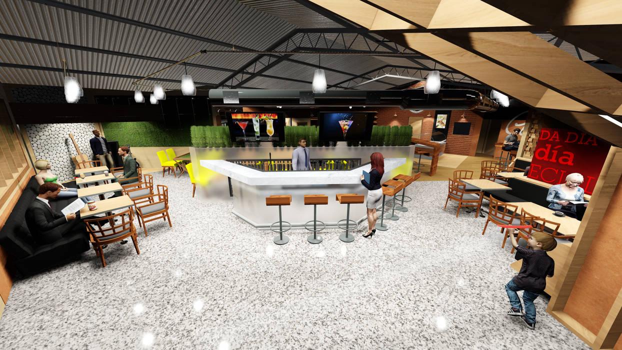 Bar & Klub  oleh Loft estudio C.A., Modern