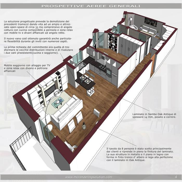 Klassische wohnzimmer von mc ristrutturare casa klassisch ...