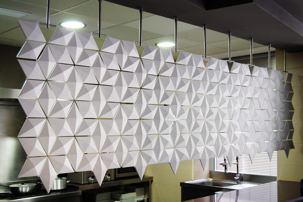 THE BEST LOOKING KITCHEN ROOM DIVIDER IS HERE! de Bloomming Moderno Plástico