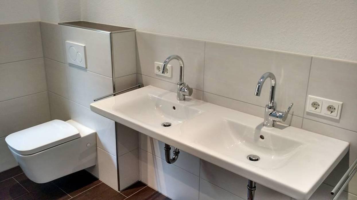 Aus alt mach neu – ein echte herausforderung: moderne badezimmer von ...