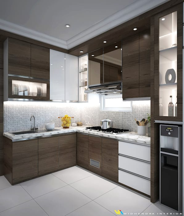 Kitchen set: Unit dapur oleh Widhendra interior,