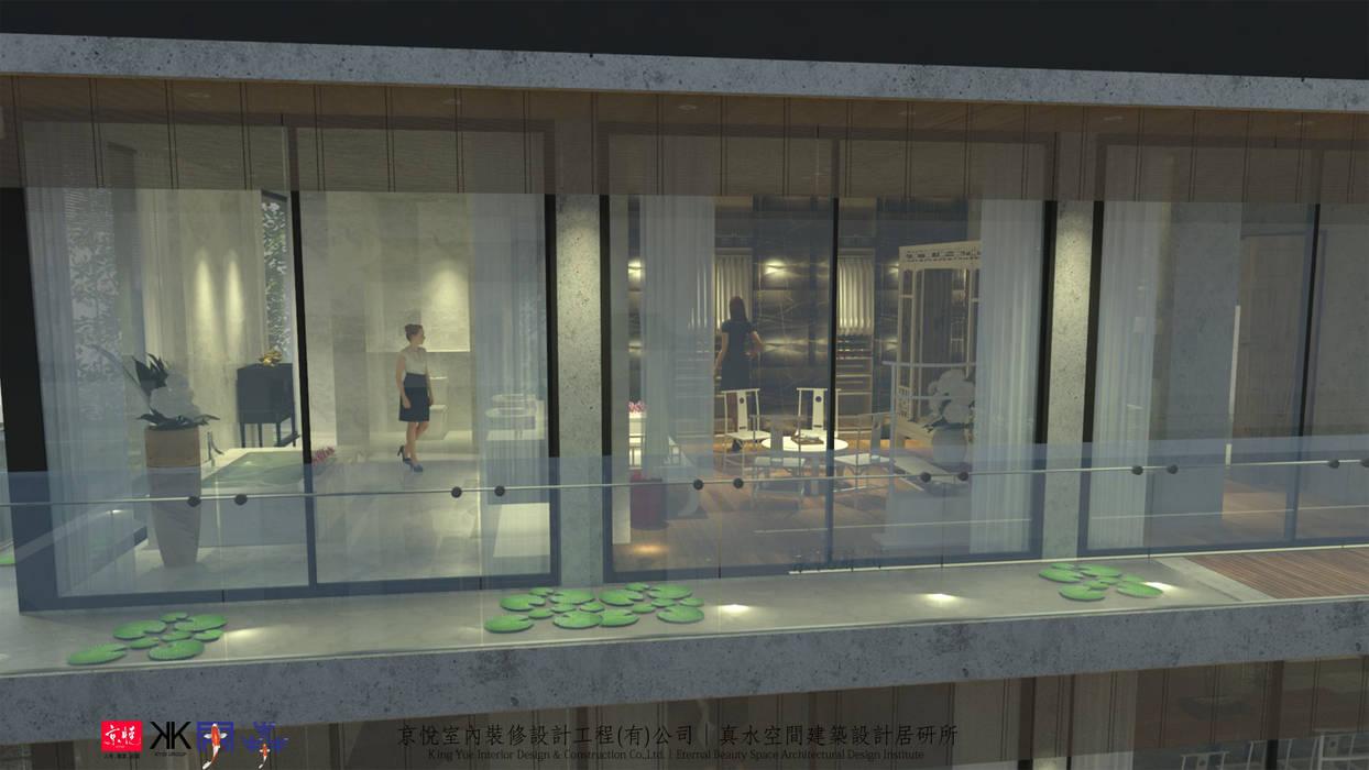京悅蘇州:  客廳 by 京悅室內裝修設計工程(有)公司|真水空間建築設計居研所