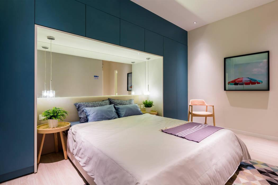 Palm Heights Moderne Schlafzimmer von MIA Design Studio Modern