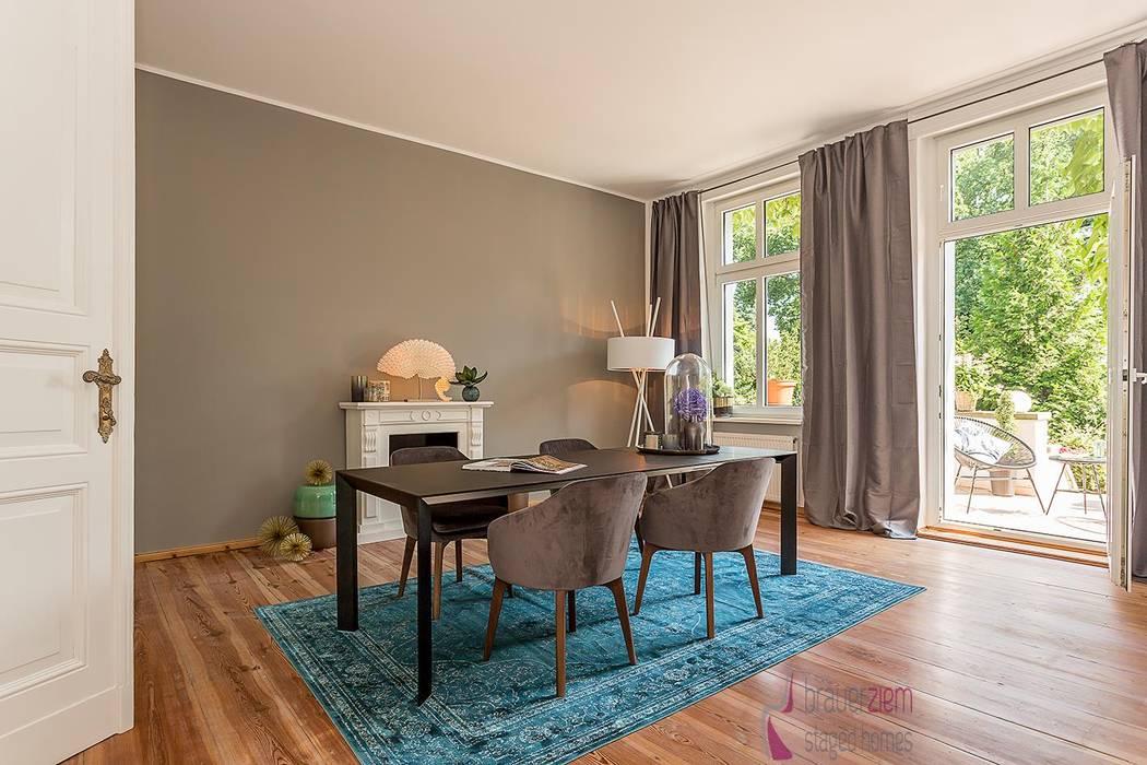 Home Staging des Esszimmers:  Esszimmer von staged homes,Asiatisch