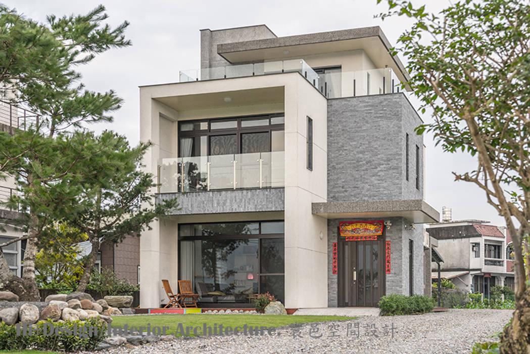 Hi+Design/Interior.Architecture. 寰邑空間設計が手掛けたリゾートハウス, モダン