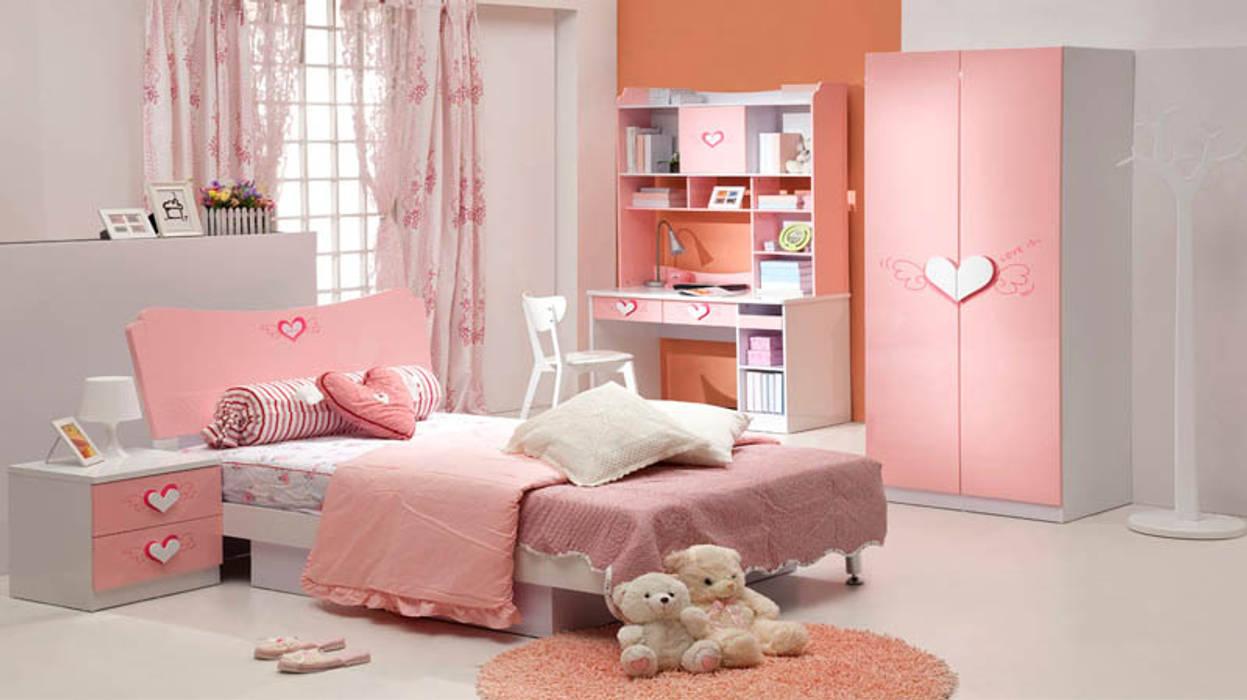 Thiết kế phòng ngủ đẹp cho bé Phòng trẻ em phong cách hiện đại bởi Thương hiệu Nội Thất Hoàn Mỹ Hiện đại