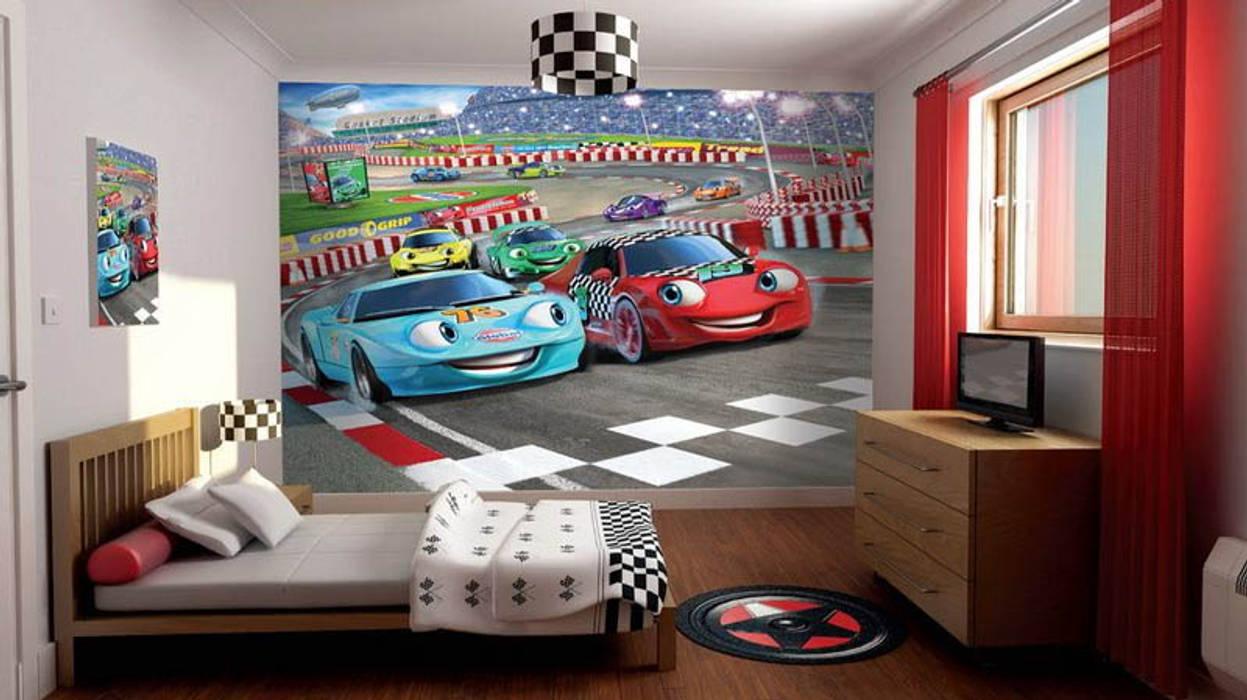 Thiết kế nội thất phòng ngủ đẹp cho trẻ Phòng ngủ phong cách hiện đại bởi Thương hiệu Nội Thất Hoàn Mỹ Hiện đại