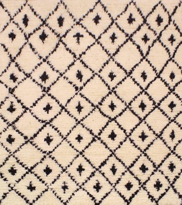 Tapis Berbère Noir Et Blanc De Style Par Margoom Tapis