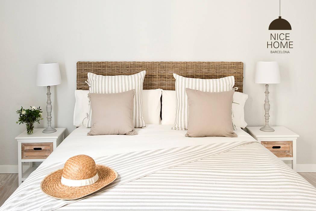 Habitaciones de estilo  por Nice home barcelona, Mediterráneo