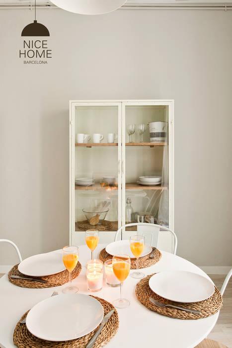Comedores de estilo mediterráneo por Nice home barcelona