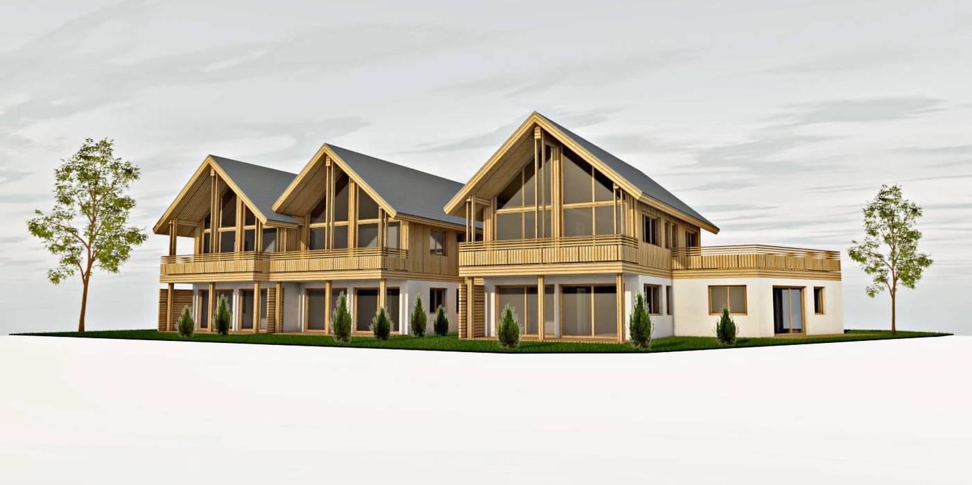 บ้านสำหรับครอบครัว โดย room architecture,