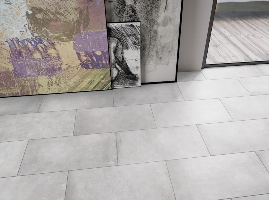 Fliesen in betonoptik für jeden wohnstil: flur & diele von ...