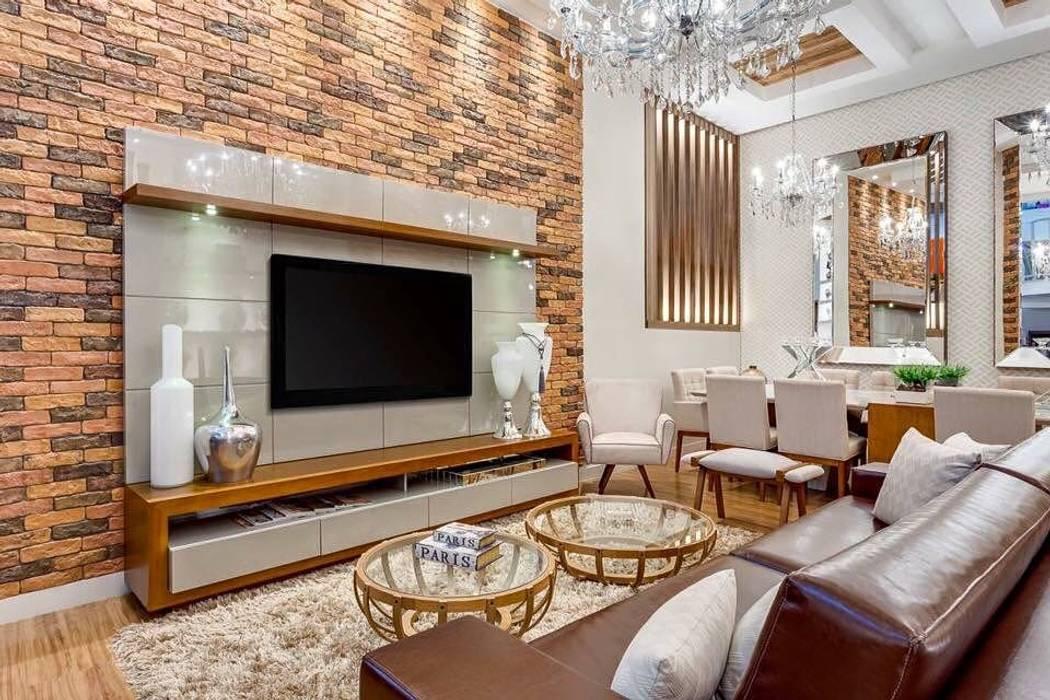 Modern living room by Guaraúna Revestimentos Modern