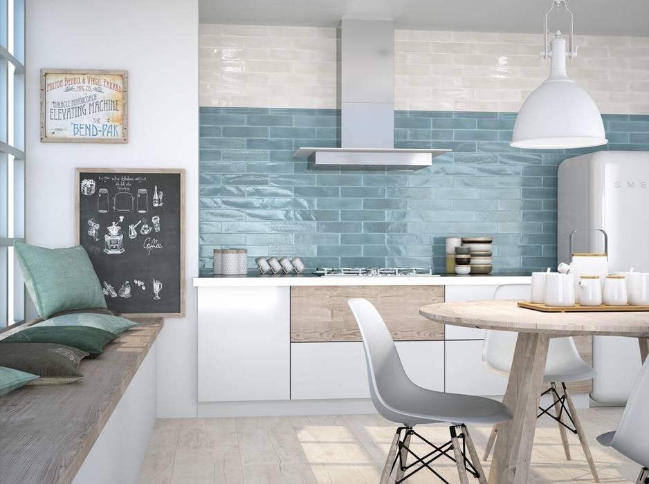Wandfliesen in der Küche :  Küche von Fliesen Sale