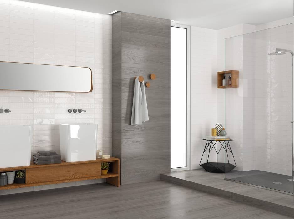 Wandfliesen im badezimmer moderne badezimmer von fliesen ...