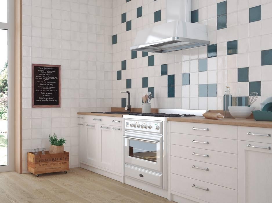 Einzelne akzente setzen mit wandfliesen in der küche: küche ...