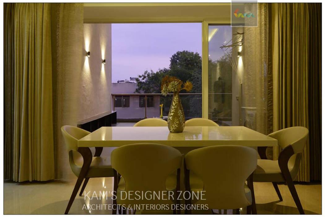 Dining Area Interior Design KAM'S DESIGNER ZONE Classic style dining room