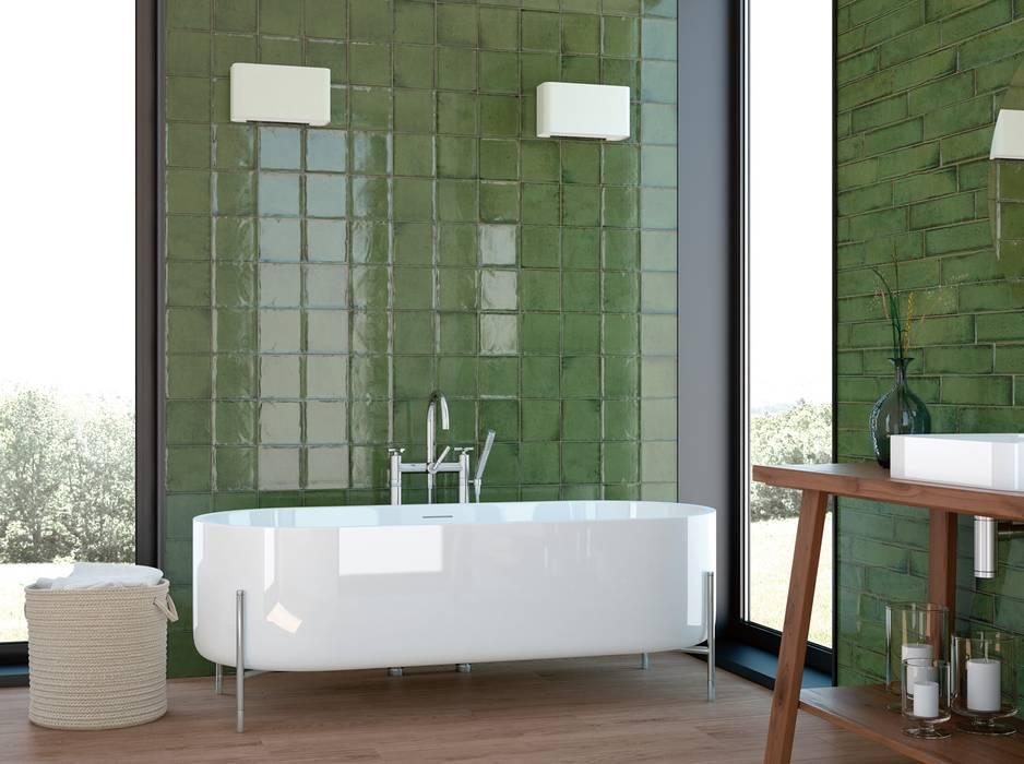 Aufregende Wanddesigns im Badezimmer:  Badezimmer von Fliesen Sale