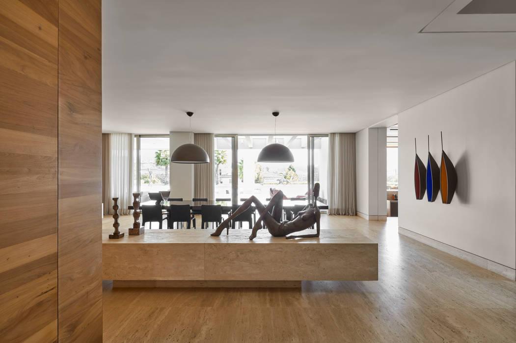 Comedores de estilo  por Lanza Arquitetos,