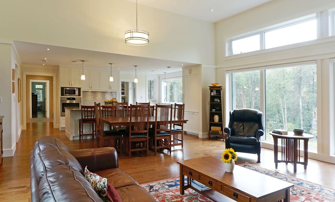 Salas de estar campestres por Solares Architecture Campestre