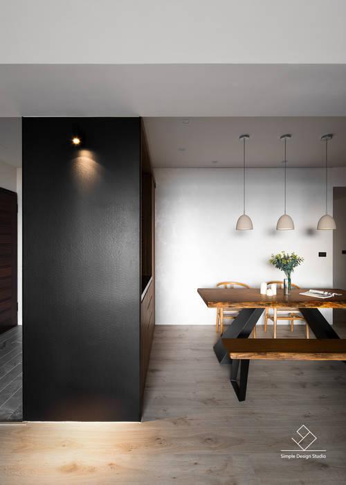 餐廳:  餐廳 by 極簡室內設計 Simple Design Studio