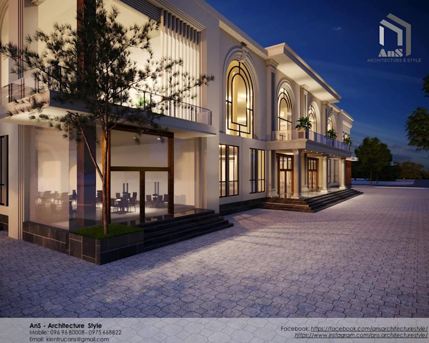 AnS - Architecture Style Commercial Spaces