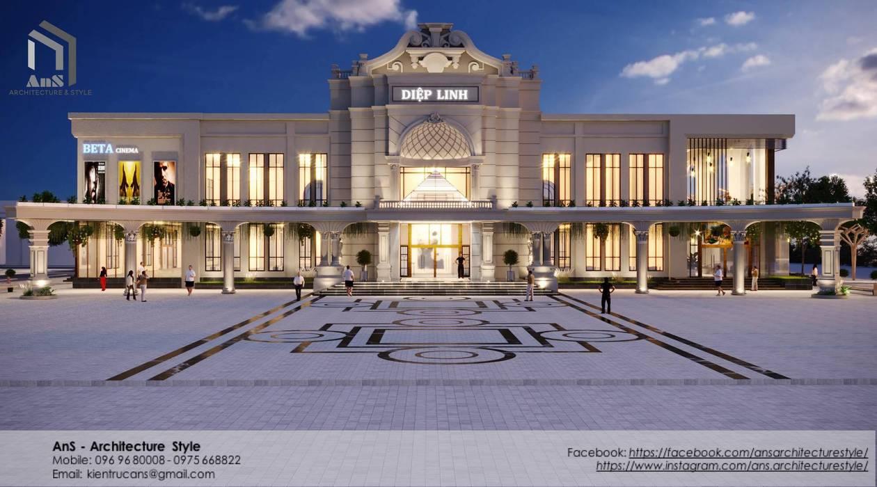 AnS - Architecture Style Pusat Perbelanjaan Modern