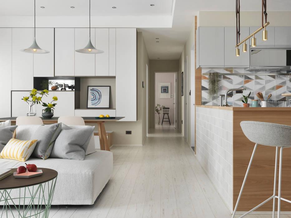 木星上的北歐幻想:  廚房 by 賀澤室內設計 HOZO_interior_design
