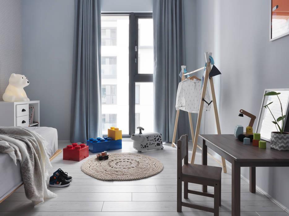 木星上的北歐幻想:  嬰兒房/兒童房 by 賀澤室內設計 HOZO_interior_design