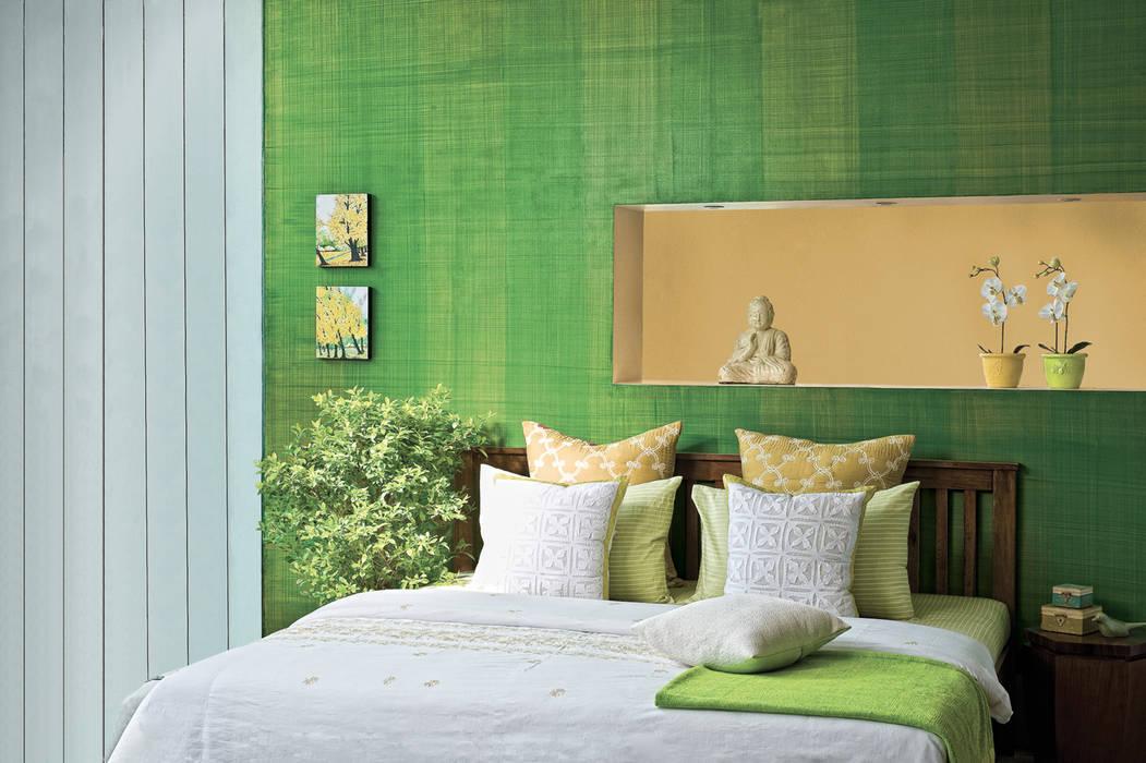 Bedroom by Papersky Studio, Tropical
