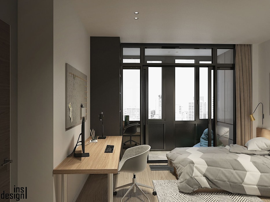 Girls Bedroom by Y.F.architects