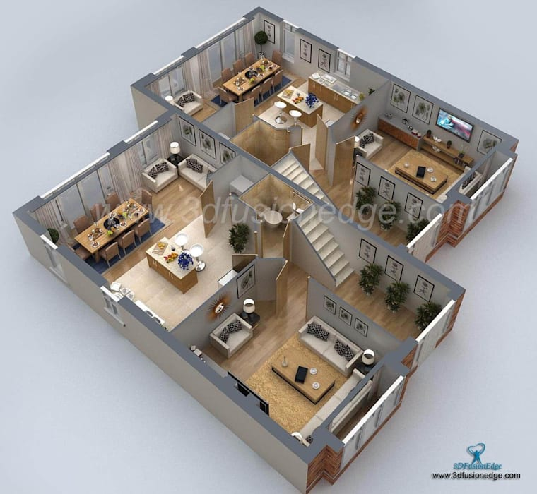 Commercial Spaces by 3DFUSIONEDGE