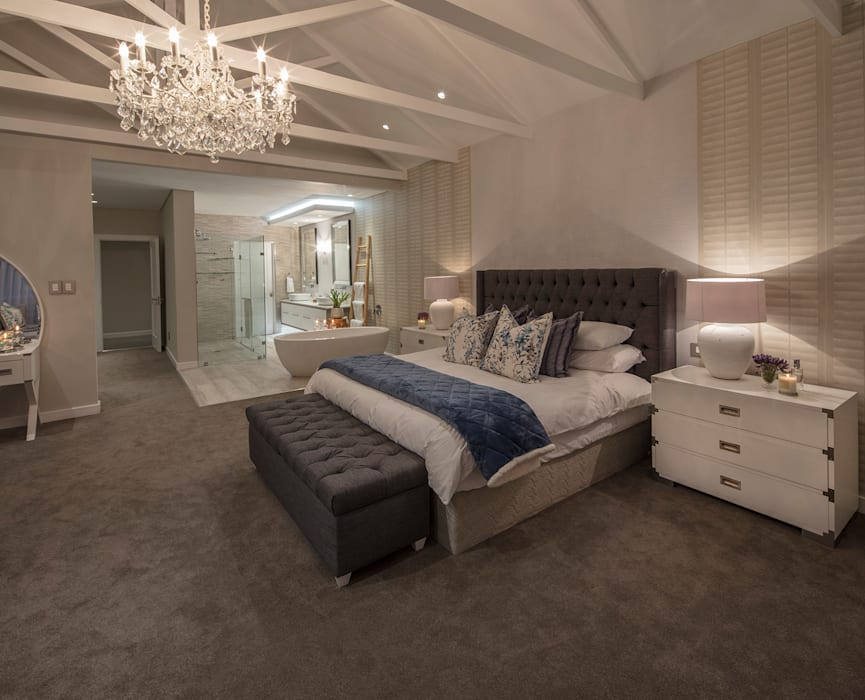 :  Bedroom by Spegash Interiors,