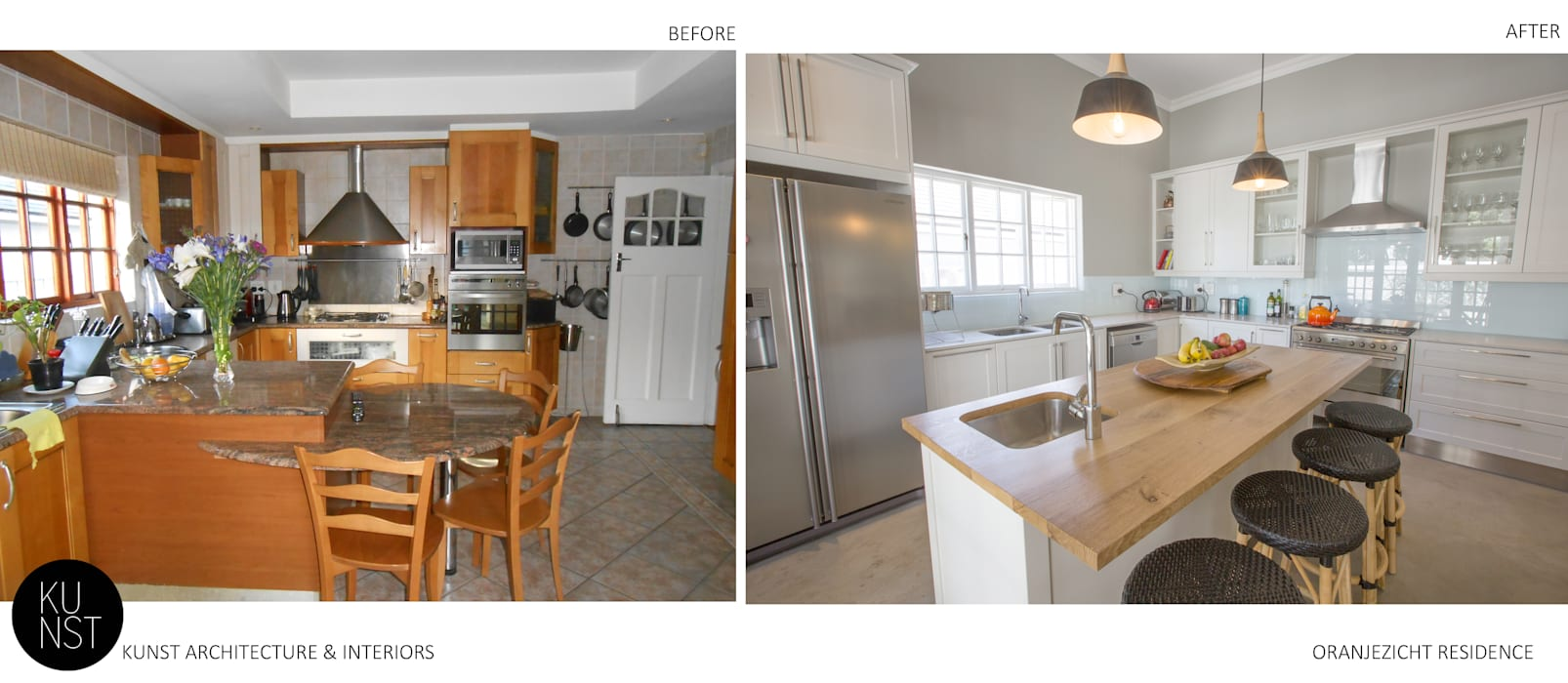 Before and After Photos _ Oranjezicht Residence Kunst Architecture & Interiors