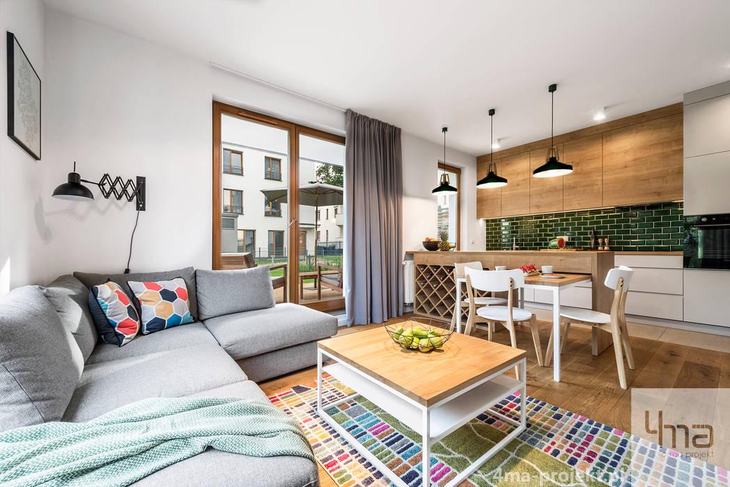 غرفة المعيشة تنفيذ 4ma projekt, إسكندينافي