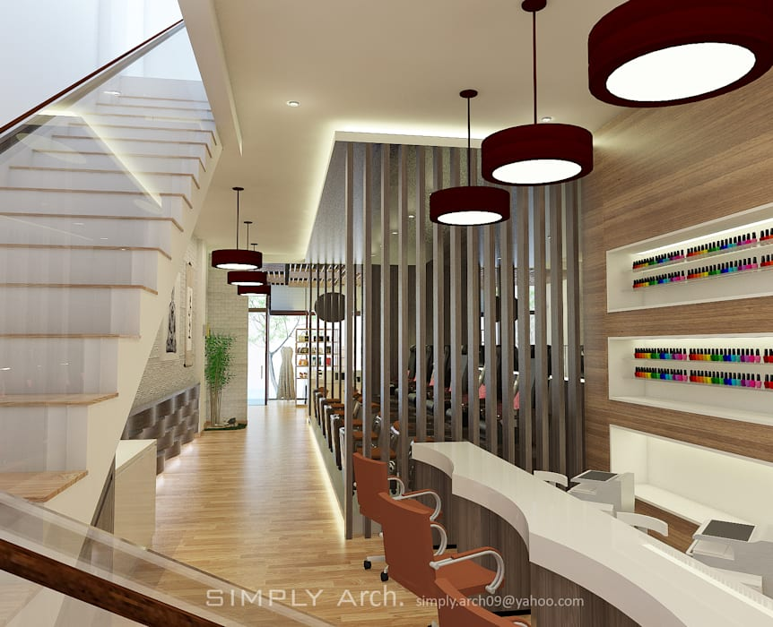 Concept Design for Commercial Project at Green Lake City Oleh Simply Arch.