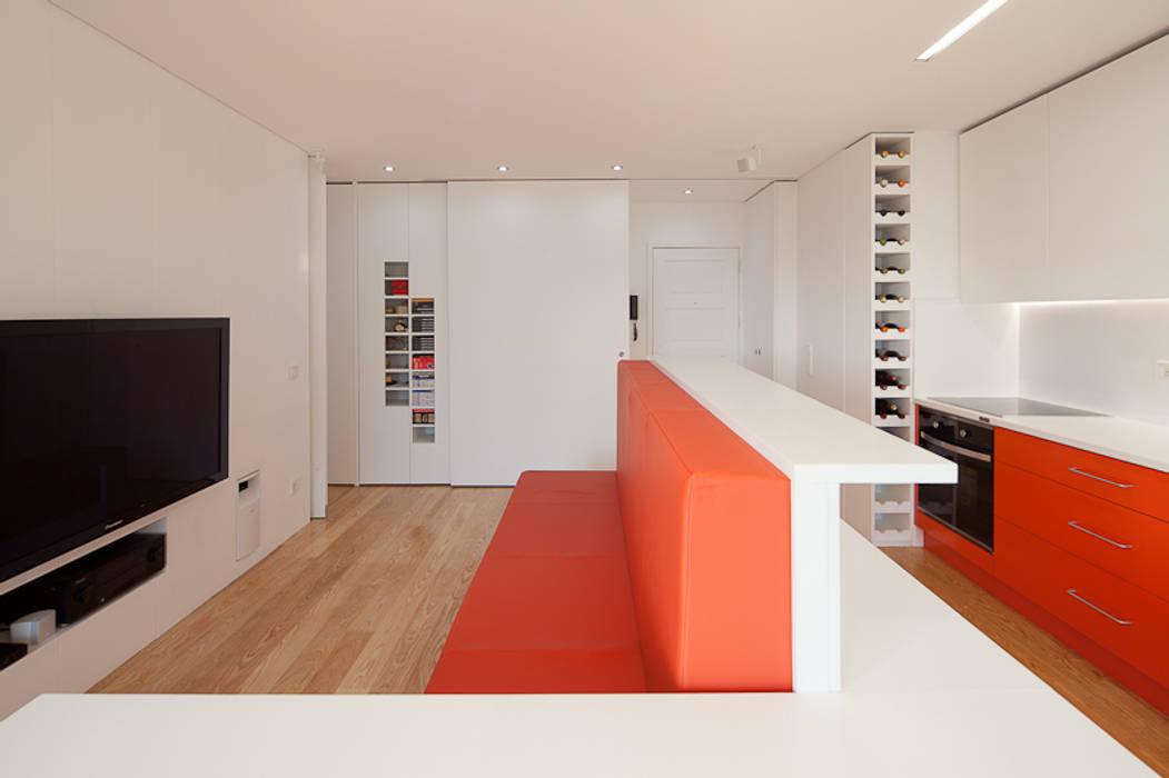 Apartamento AF ADAPTEYE Salas de estar minimalistas