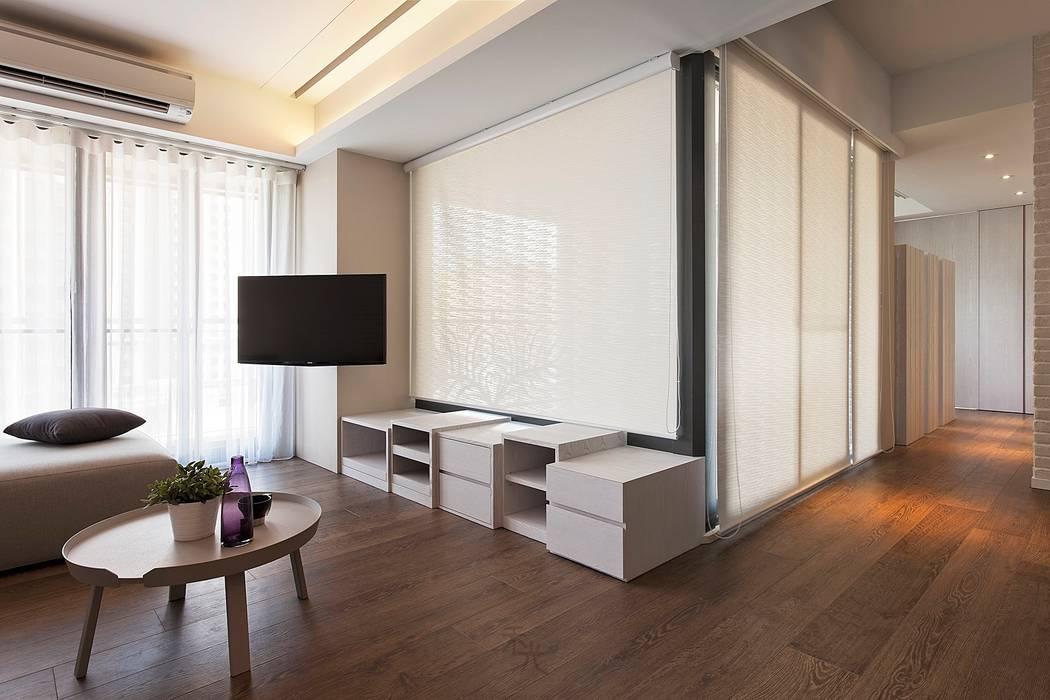 客廳:  客廳 by 禾光室內裝修設計 ─ Her Guang Design