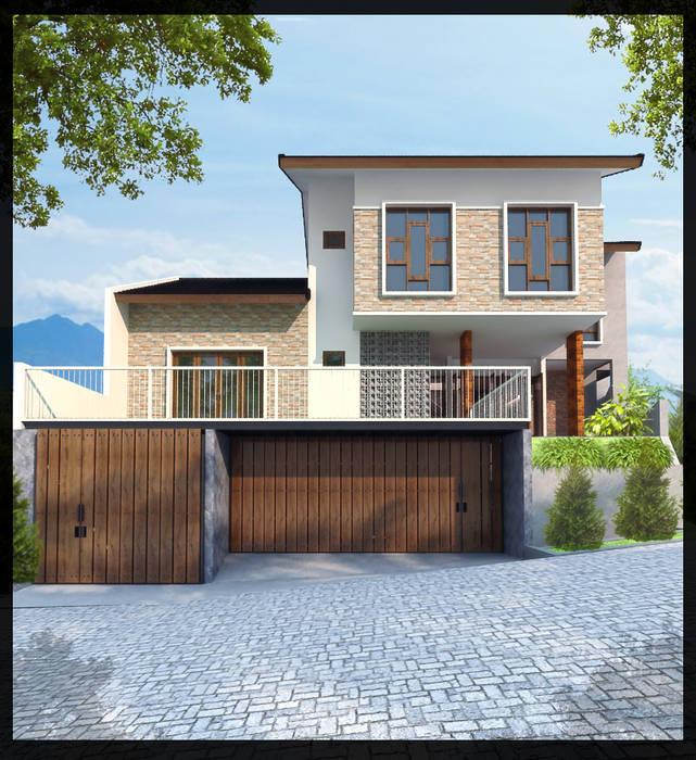 Rumah Permata Puri SUKAM STUDIO Rumah Minimalis