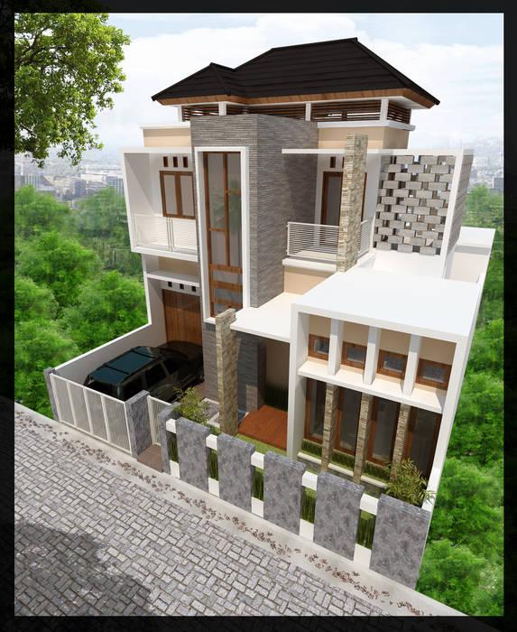 Rumah Bpk. Akhad SUKAM STUDIO Rumah Minimalis