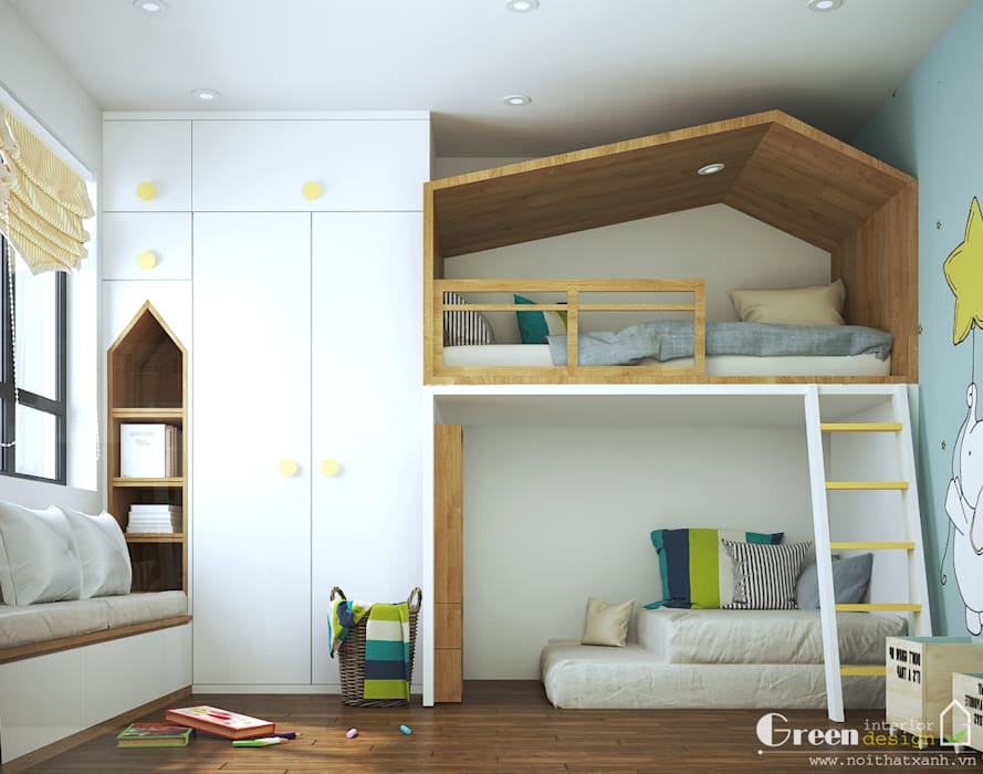 Escaleras de estilo  por Green Interior,