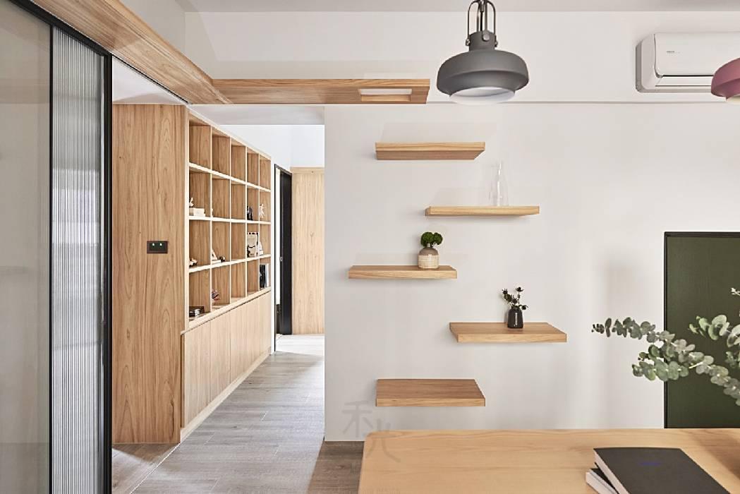 Tường theo 禾光室內裝修設計 ─ Her Guang Design, Bắc Âu