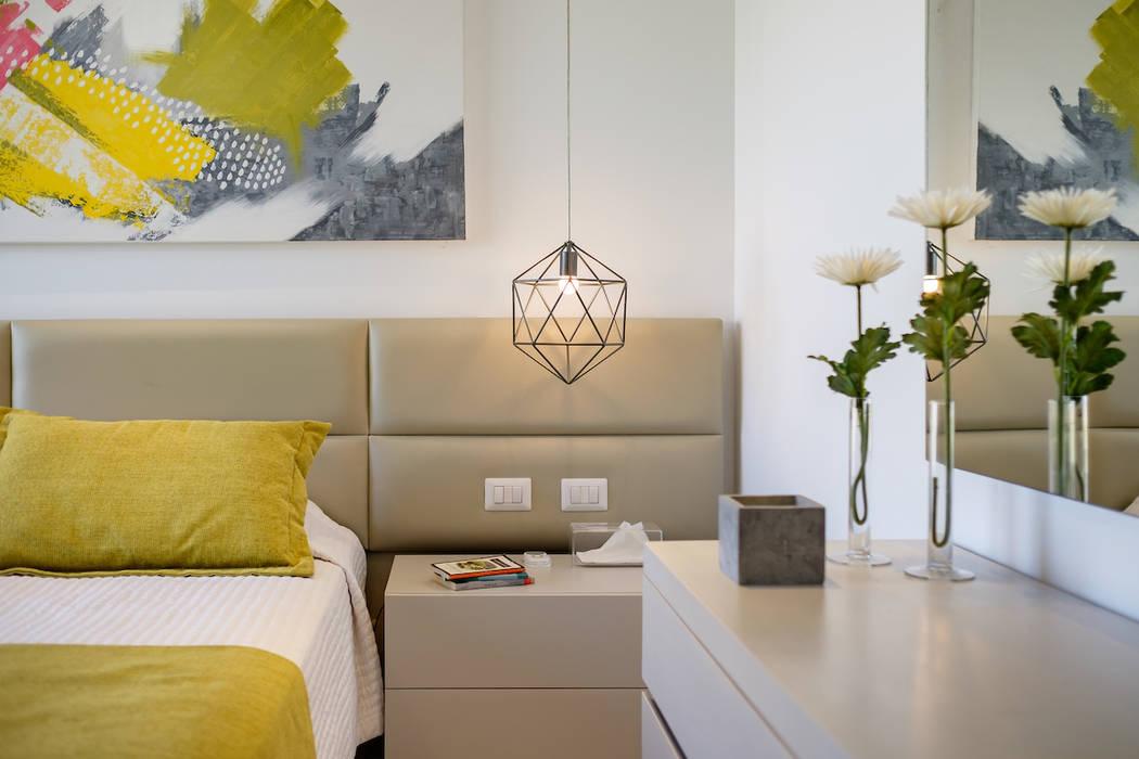 غرفة نوم تنفيذ Hossam Nabil - Architects & Designers, حداثي