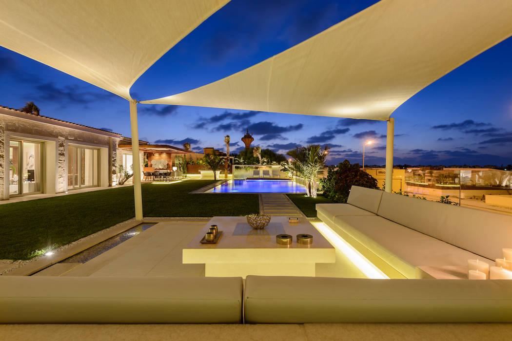 كوخ حديقة تنفيذ Hossam Nabil - Architects & Designers, حداثي