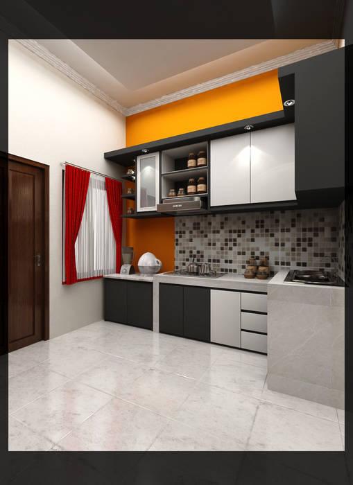 Kitchen Bpk. Indra: Dapur oleh SUKAM STUDIO, Minimalis