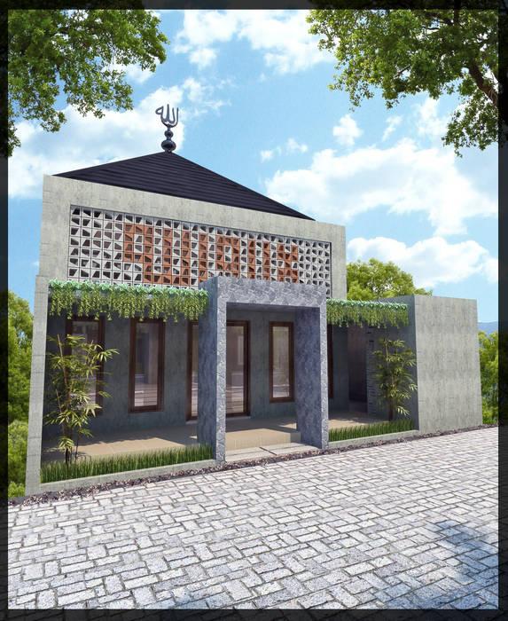 Masjid Perumahan Demak SUKAM STUDIO Rumah Minimalis