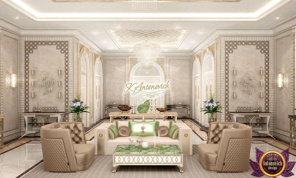 Luxury Antonovich Design Klassische Wohnzimmer