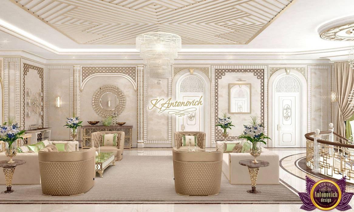 Luxury Antonovich Design Livings de estilo clásico
