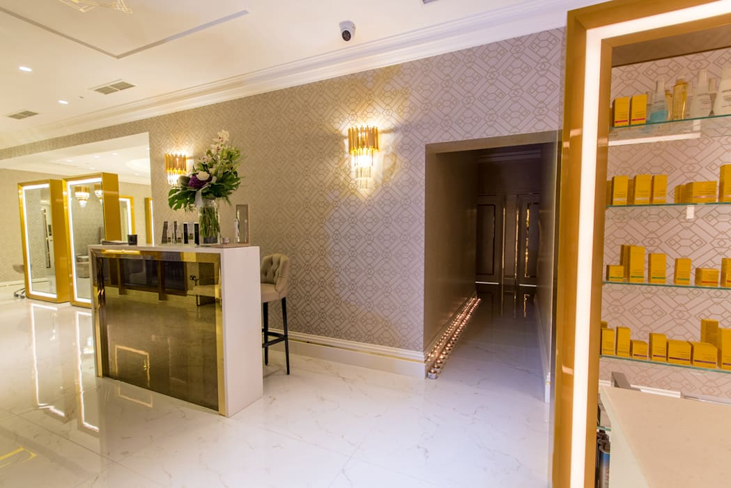 House of Evelyn Beauty Salon Modern spa by Design by UBER Modern
